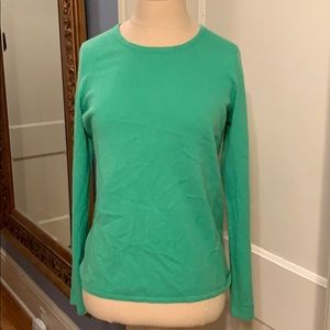 Belford Kelly green  100% cashmer sweater